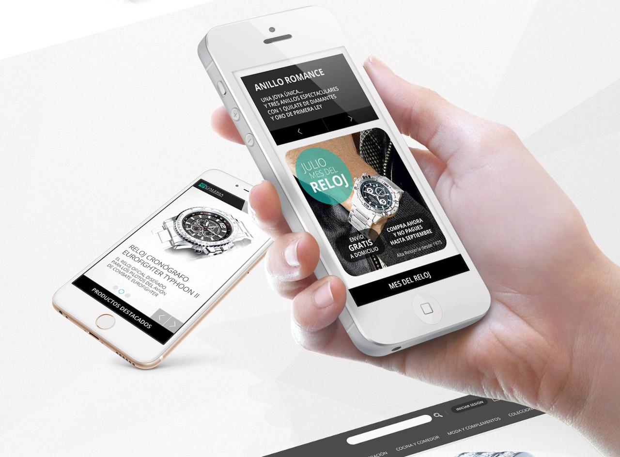365studio Galería del Coleccionista Web Design