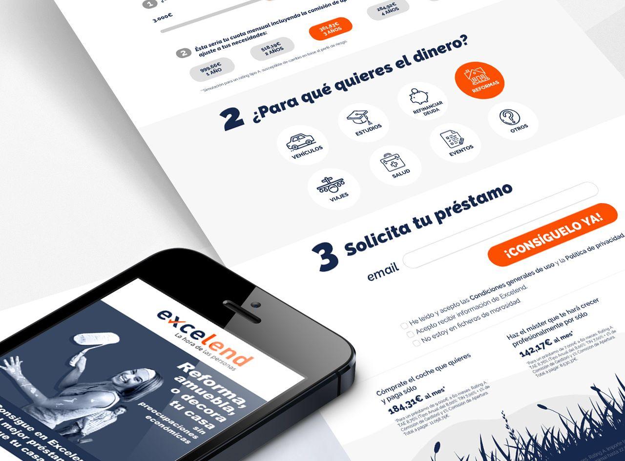 365studio Excelend Web Design UI