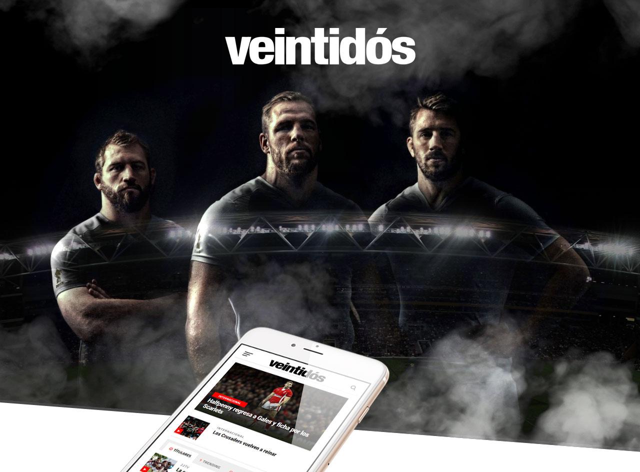 365studio Revista Veintidós Web Design