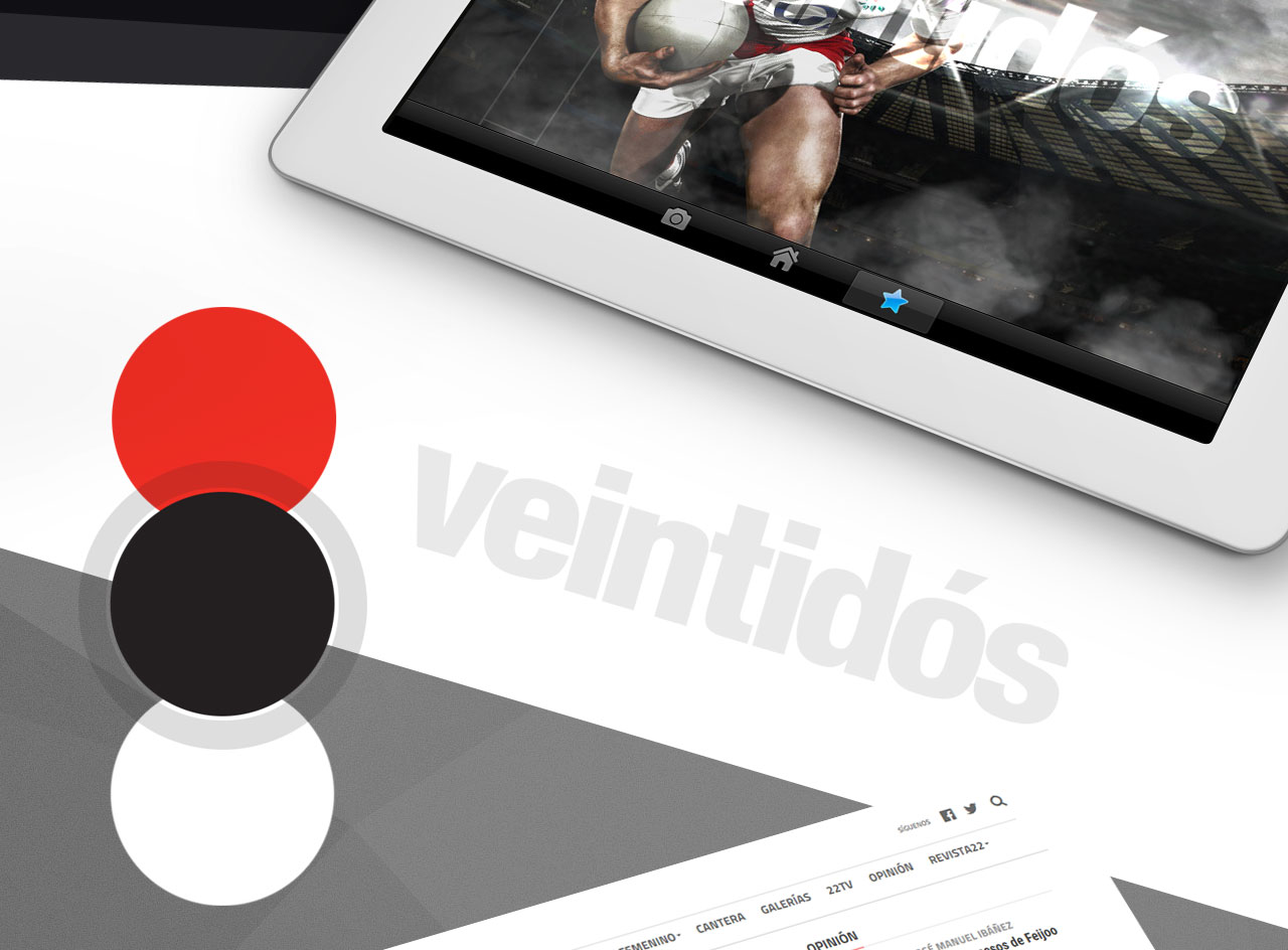 365studio Revista Veintidós Web Design