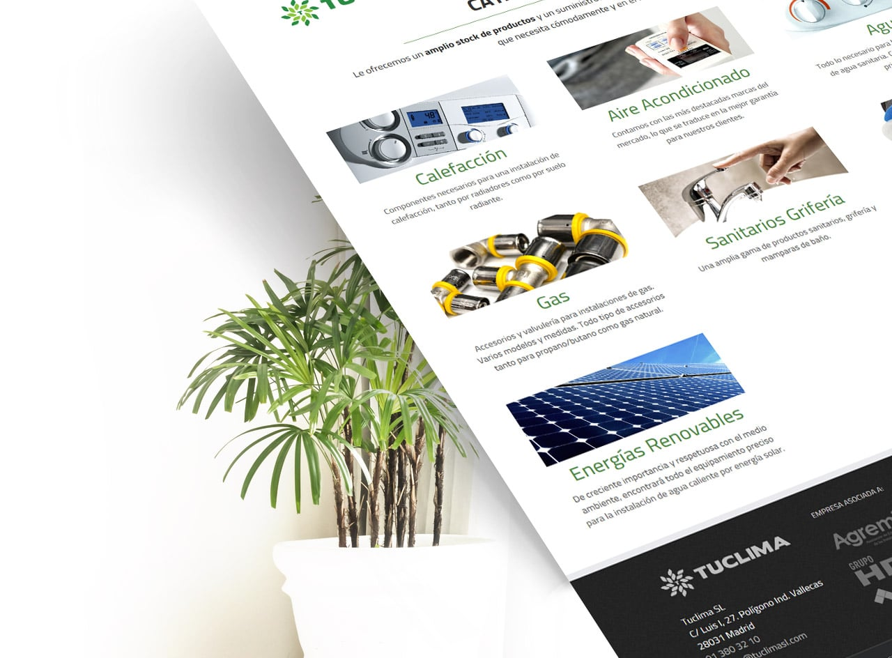 365studio Tuclima Web Design eCommerce Identidad