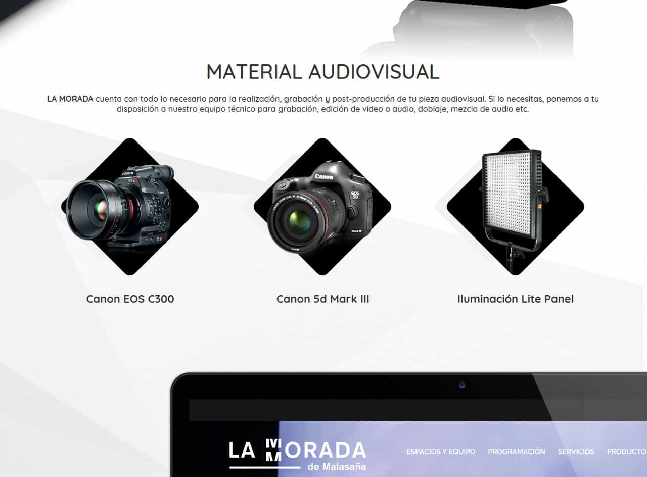 365studio La Morada Web Design eCommerce